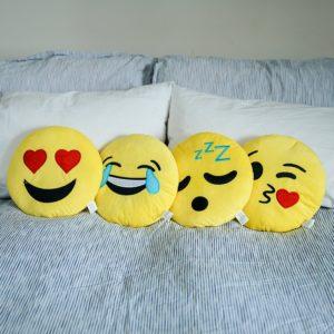 Emoji Kissen kaufen 4 er Set