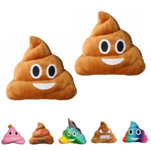 Haufi® Emoji kissen kaufen Smiley Kackhaufen