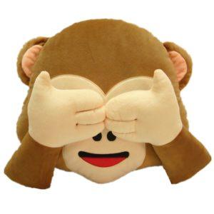 LI&HI Emoji Lachen Emoticon sitzkissen affe