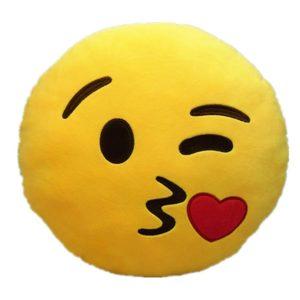 Natural Home große emoji kissen
