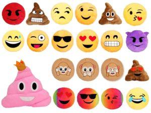 alsino lackkissen Emoji kaufen
